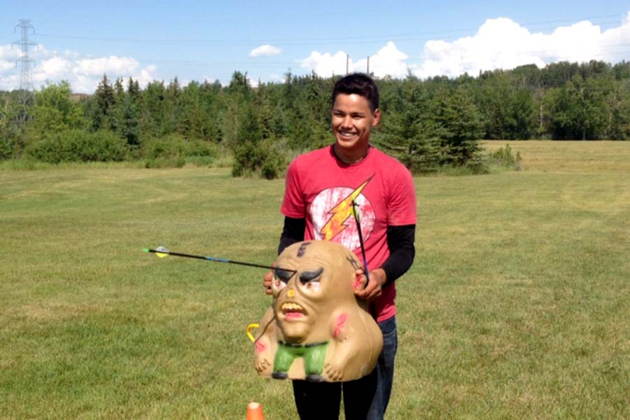 Alberta Indigenous games Archery